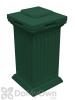 Savannah Column Storage and Waste Bin - Green