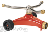 Dramm ColorStorm Whirling Sprinkler - Red