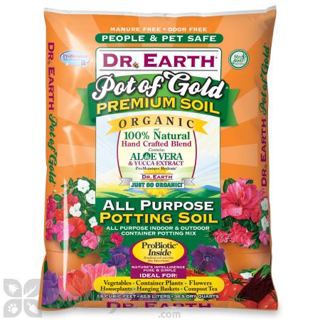 Dr Earth Pot Of Gold All Purpose Organic Potting Soil