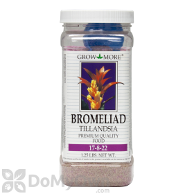 Grow More 17-8-22 Bromeliad Plant Food