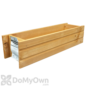 Pennington Window Box Heartwood with Planter Guard