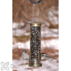 Aspects Seed Tube Antique Brass Quick Clean Base Bird Seed Feeder (394)