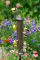 Aspects Thistle Tube Brushed Nickel Quick Clean Base Bird Seed Feeder Medium (400)