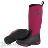 Muck Boots Arctic Adventure Women's Black / Maroon Boot - Women's 10