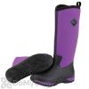 Muck Boots Arctic Adventure Women's Black / Purple Boot - Women's 10