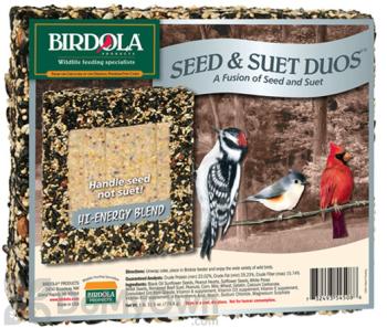 Birdola Products Duo Bird Seed Cake High Energy (54508)
