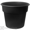 Bloem Dura Cotta Planter 14 in. Black