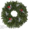 BL Fraser Wreath Decorated 22