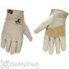 CAT Premium Grain Cowhide Driver Gloves Large