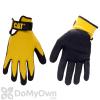 CAT Nylon Nitrile Coated Gloves Large