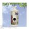 Coynes Company Modern Vintage Lilac Butterfly Bird House (MV1018)