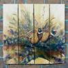 Gizaun Art Signature Series 1 The Sneakers Inside/Outside Full Color Cedar Wall Art