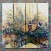 Gizaun Art Signature Series 1 The Sneakers Inside/Outside Full Color Cedar Wall Art (33