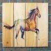 Gizaun Art Signature Series 1 Free Spirit Inside/Outside Full Color Cedar Wall Art