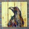 Gizaun Art Signature Series 1 Here's Trouble Inside/Outside Full Color Cedar Wall Art