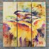 Gizaun Art Signature Series 1 Sunny Day Inside/Outside Full Color Cedar Wall Art (28