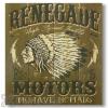 Wile E Wood Renegade Motors Wall Art