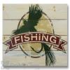 Wile E Wood Fly Fishing Wall Art