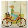 Wile E Wood Red Bike Wall Art