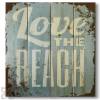 Wile E Wood Love the Beach Wall Art