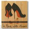Wile E Wood Shoe Love Wall Art