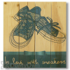 Wile E Wood Sneaker Love Wall Art
