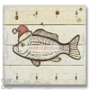Wile E Wood Fish Christmas Wall Art