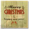 Wile E Wood Christmas Reindeer Wall Art