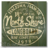 Wile E Wood North Shore Longboards Wall Art