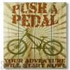 Wile E Wood Push & Pedal Wall Art