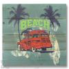 Wile E Wood Beach Car Wall Art