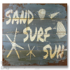 Wile E Wood Sand Surf Sun Wall Art