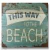 Wile E Wood To The Beach Wall Art