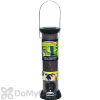 Droll Yankees ONYX Tube 2 Port Nyjer Bird Seed Feeder with Removable Base (CC12N)