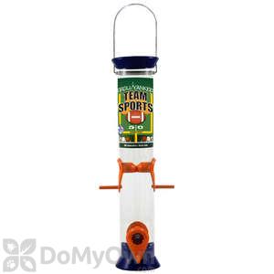 Droll Yankees Sunflower Bird Feeder - 15 in. Burnt Orange & Navy Blue (TS40212)
