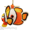 DZI Handmade Designs Clown Fish Felt Bird House (DZI484038)