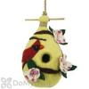 DZI Handmade Designs Dogwood Cardinal Felt Bird House (DZI484029)