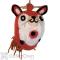 DZI Handmade Designs Fox Felt Bird House (DZI484044)