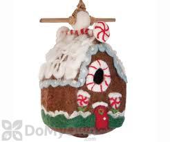 DZI Handmade Designs Gingerbread Chalet Felt Bird House (DZI484047)