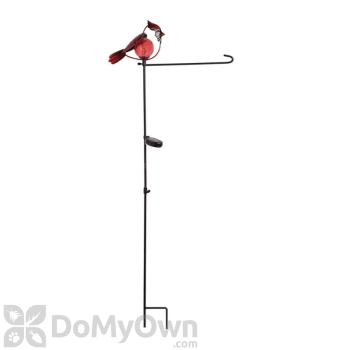 Evergreen Enterprises Cardinal Solar Garden Flag Stand (01264)