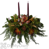 Fernhill Thanksgiving Centerpiece With 2 Candles