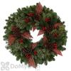 Fernhill Berries & Bows Wreath 24