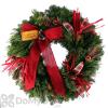 Fernhill Burlap Lodge Wreath 24