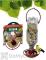 Gadjit Soda Bottle Bird Seed Feeder Terra Cotta (WP13153)