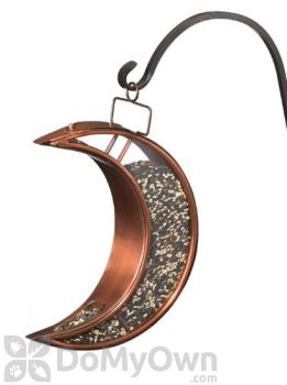 Good Directions Bronze Venetian Crescent Moon Bird Feeder 12 in. (114VB)