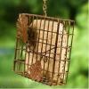 Heath Suet Basket Bird Feeder with Decorative Leaf (2304)