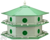Heath Aluminum 12 Room Purple Martin Bird House (AH12D)