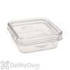 Hiatt Manufacturing Snacks N Treats Live Mealworm or Water Dish Bird Feeder (38218)
