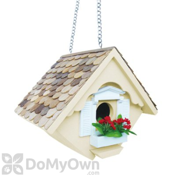 Home Bazaar White Little Wren Bird House (HB2044)