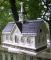 Home Bazaar Star Barn Bird House (HB2084)